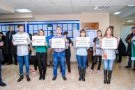 Вінницька молодь взяла участь у флешмобі щодо легалізації заробітної плати