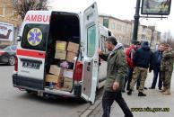 Майже три тонни гуманітарної допомоги відправили вінничани на Схід
