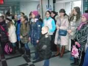 Гран-прі міського конкурсу юних художників «Новорічна Вінниця» отримала Дар'я Мороз