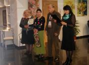 Художниця та викладачка ДонНУ Таїсія Лепеха презентувала свою творчість вінничанам