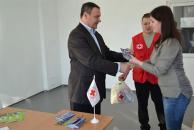 Товариство Червоного Хреста надало адресну допомогу студентам-сиротам ДонНУ