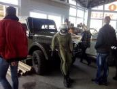Вінницькі поліцейські організували дітям екскурсію на виставку ретро-автомобілів