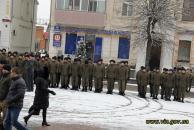 В річницю виведення військ з Дебальцевого вінничани вшанували пам'ять загиблих учасників АТО