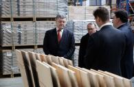 Президент у Вінниці ознайомився з прикладом іноземного інвестування на ТОВ «Барлінек Інвест»