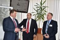 Голова Київської ОДА М.Мельничук про Прозорі офіси: «Це мабуть взірцевий Центр надання адмінпослуг. Ми вражені»