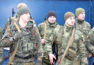"""Півсотні бійців спецбатальйону """"Вінниця"""" повернулись з півторамісячної служби у зоні АТО"""