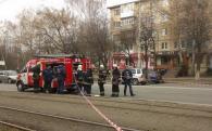 Вчора на Вишеньці у салоні трамваю шукали вибухівку