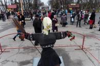 У Центральному парку Вінниці відбулися народні гуляння на честь свята Масляної