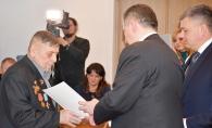 У міській раді привітали ветеранів, які 1944-го брали участь у визволенні Вінниці від фашистських загарбників
