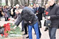 Фоторепортаж з покладання квітів з нагоди 72-ої річниці визволення Вінниці від фашистських загарбників