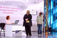 Легендарні КВН-ники Євгеній Сморигін і Марина Поплавська зняли кумедне відео спеціально для вінничан