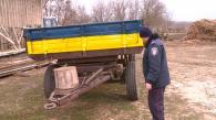 На Вінниччині фермер насмерть переїхав причепом трактора чоловіка, а його тіло вивіз у лісосмугу
