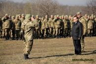 Майже півтисячі військовозобов'язаних вінничан відпрацьовують свої військові навики