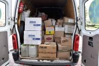 Сьогодні майже три тони гуманітарного вантажу відправили з Вінниці на Схід
