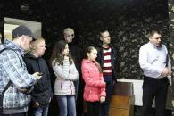 Вінницьким школярам показали, де відпрацьовують навички по стрільбі працівники поліції