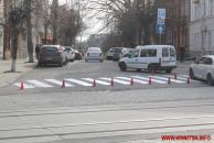 """У Вінниці пішохідні розмітки """"закликають"""" вінничан бути уважними на дорогах"""