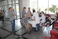 Сьогодні вінничанам безкоштовно перевіряли рівень цукру в крові та вимірювали тиск