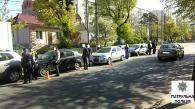 На вул. Брацлавській зіштовхнулись п'ять автівок