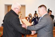 Сьогодні вінницьких ліквідаторів аварії на ЧАЕС відзначили грамотами та грошовими преміями