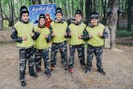 Стали відомі команди-переможці студентського чемпіонату з пейнтболу