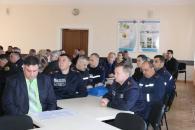 В Жмеринському районі рятувальники вчились ліквідувати наслідки розгерметизації цистерни аміаку