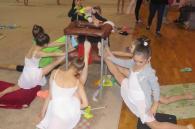 У Вінниці близько 170 гімнасток змагалися на чемпіонаті України з художньої гімнастики. Перемогли киянки