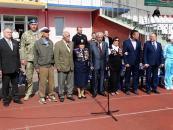 Сьогодні у парку відбулась легкоатлетична естафета, присвячена Дню Перемоги