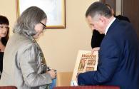 Надзвичайного і Повноважного Посла Австрії пані Герміне Поппеллер вразили вінницькі Прозорі офіси та нові трамваї