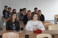 Поліцейські вчили студентів ДонНу Правилам дорожнього руху