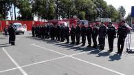 Вінницькі рятувальники ліквідували умовну пожежу на території складу одного з гіпермаркетів Вінниці