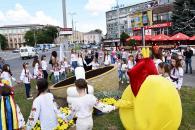 У Вінниці висадили квіткову клумбу «Смайлик»