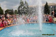 У центрі Томашполя після реконструкції запрацював фонтан