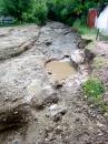 Через негоду в Ямпільському районі потоками води позмивало 9,5 км доріг та верхній шар грунту з полів