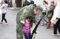 """Бійці спецбатальйону """"Вінниця"""" повернулися додому після півторамісячної служби у зоні АТО"""