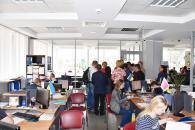 Досвід роботи Вінниці по наданню соціальних послуг знайомилась делегація з Харкова