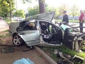 """Минулої суботи на вул.600-річчя """"BMW"""" в'їхав у дерево. Водій загинув"""