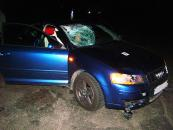 У ДТП на Вінниччині загинули пішохід та водій, ще троє пасажирів у лікарнях. Серед них - 6-річна дитина