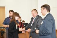 В міській раді привітали учасників конкурсу «Кришталева нота»