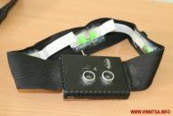 Дмитро Кривий створив спеціальну пов'язку із датчиками, яка допоможе незрячим людям безпечніше гуляти містом