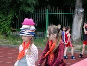 """Для учнів, що відпочивають у пришкільних таборах міста, проводять """"Фестиваль спорту"""""""