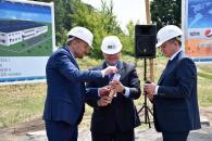 У Вінницькому індустріальному парку закладено «перший камінь» заводу холодильного обладнання