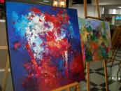 У холі Вінницької міської ради відкрито виставку польського художника Вацлава Онека