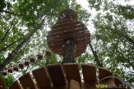"""За місяць у парку Дружби народів запрацює """"мотузкове"""" містечко для активного відпочинку малечі"""