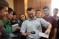 Студенти ДонНУ знайомилися із сервісами вінницьких фіскалів і митників