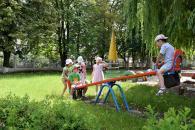 У шести садочках Вінниці відновлюють ігрові майданчики