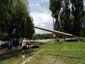"""На минулих вихідних у парку Дружби народів відбулись обласні змагання """"Козацькі розваги"""""""