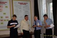 На Вінниччині розпочались командно-штабні навчання з ліквідації надзвичайної ситуації природного характеру