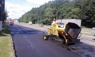 На виїзді з Вінниці у бік Києва капітально ремонтують дорогу