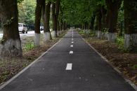 В районі музею-садиби ім. М.Пирогова збудували ще одну велодоріжку