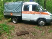 В Гніванському районі чоловік замість грибів у лісі знайшов 6 артснарядів
